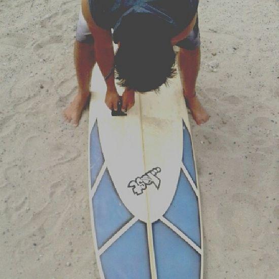 Baby cleaning my baby Surf Surfboard Lost Mayhem  love