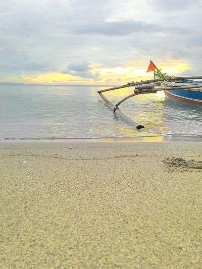 sunrise at Sebesi Island, South Lampung, Lampung, Indonesia. INDONESIA Sunrise