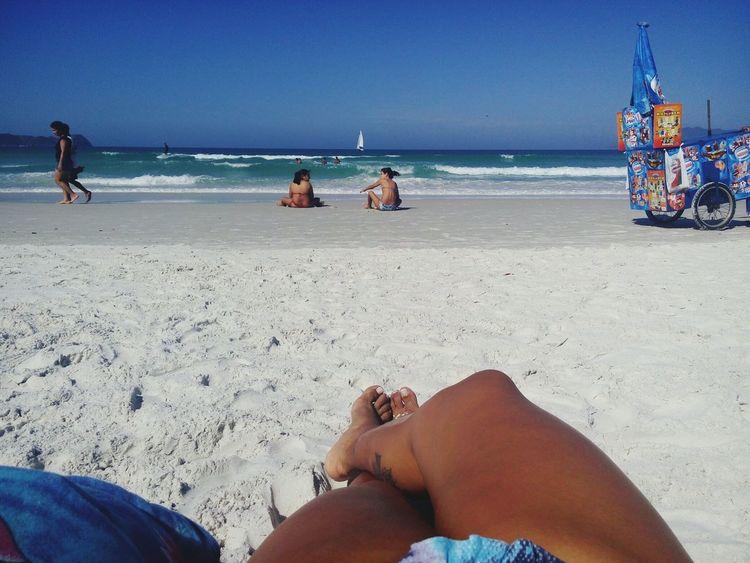 Praia linda.. Sol lindo... Relaxing First Eyeem Photo