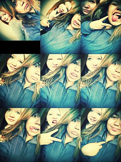 This girl tho....Love her she's a really good friend? With My Bestie <3 Haning With This Babe