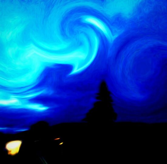 Blue Skies Tree Silhouette Dreaming DreamScapes Fantasy Supernatutal Float Away Making Art Hypnoticdreams Stop And Look Around Focus On Foreground Enjoying Life Clouds And Sky Relaxing Phycodelic Tripping The Magic Mission Just Being Me Enjoying The View Have Fun With Art Creativity Zenit Create Your World I LOVE PHOTOGRAPHY Switch It Up
