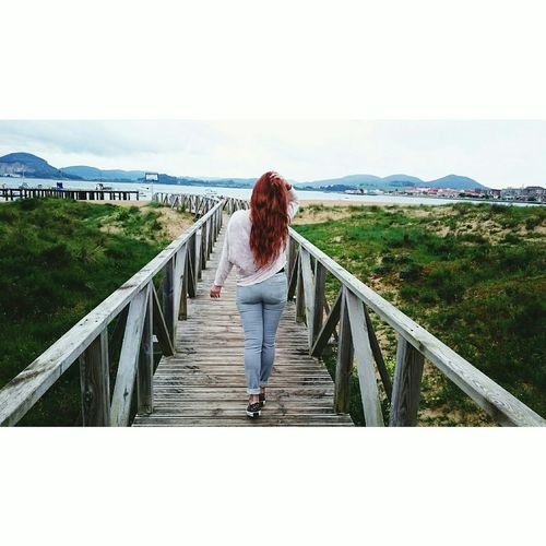 Hello World RedHAIR ❤ Lovely Beach Longhair♥ Gingerhair