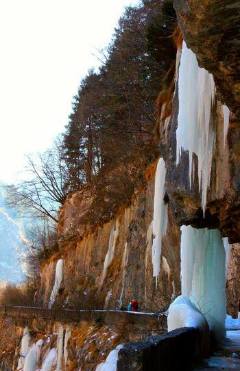 I ghiacciai della Via Mala