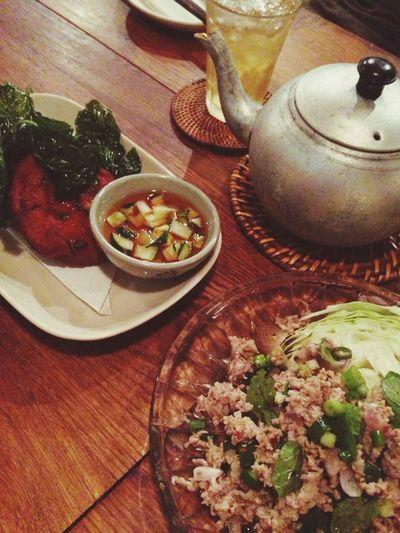 Dinner Thai Food Spicy