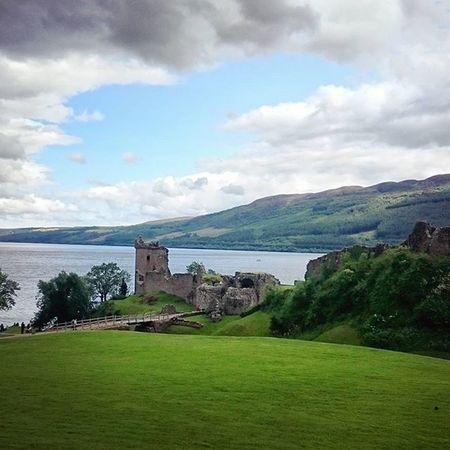 Lochness UrquhartCastle Scotland Szkocja