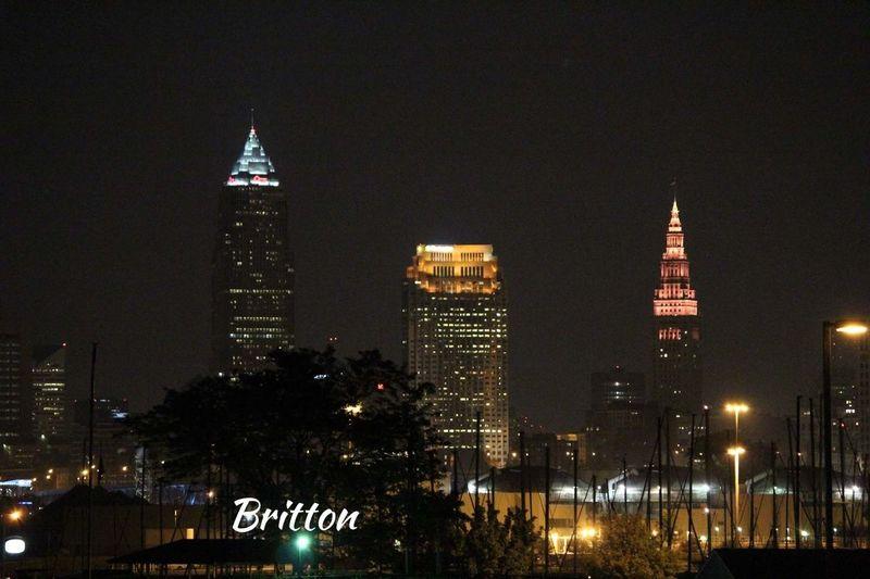 Cleveland Skyline at night. EyeEm Best Shots - Landscape EyeEm Best Shots City Lights