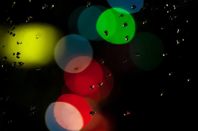 Full frame shot of balloons in water