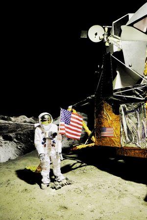 Space Space Exploration Moon Landscape Moon Landing Moon Lander Astronaut Space Travel