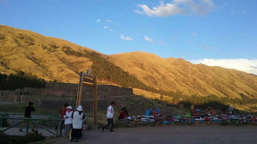 Atardecer ...  Cusco, Peru Landscape Lifestyles Mountain Mountain Range Real People Sierra Del Perú Traveling Travelingperu