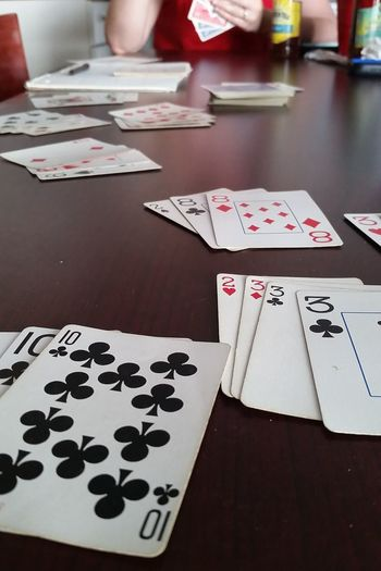 Cards Card Game Hearts Diamonds Spades Clubs Ante Up Play The Game Game Play Gambling Chip Chance Gambling Competition Leisure Games Strategy Poker - Card Game Luck Desk Playing Game Of Chance Ace