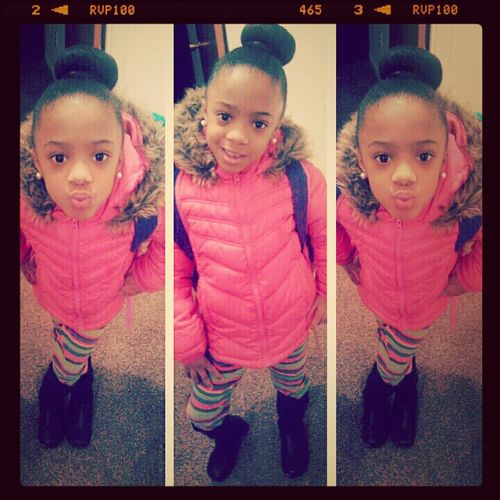 my baby sis ♡ I got her all dolled up