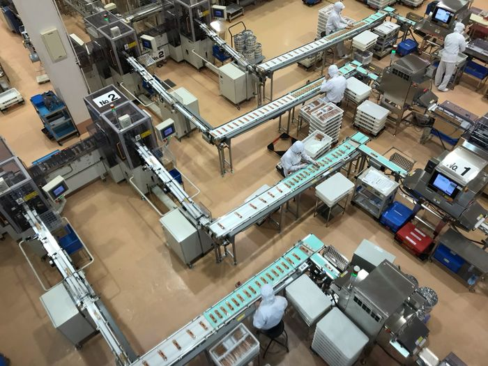 Factory Tour Sweet Factory High Angle View Architecture Transportation Mode Of Transportation Day Built Structure Aerial View