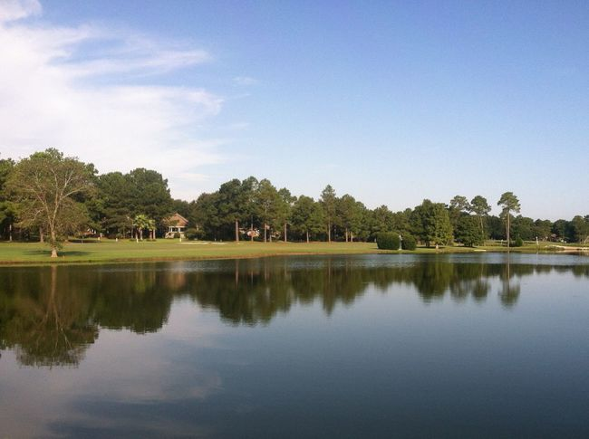 Showcase: February Water Trees Reflection Grass Golf Course Fairway Reflections Reflection_collection Scenics Scenery