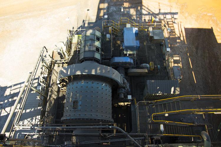 Mining Process Plant Mining Mine Underground Singapore City Process Plant Mineral Gold Factory