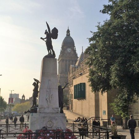Monument Sculpture Statue Town Hall War Memorial