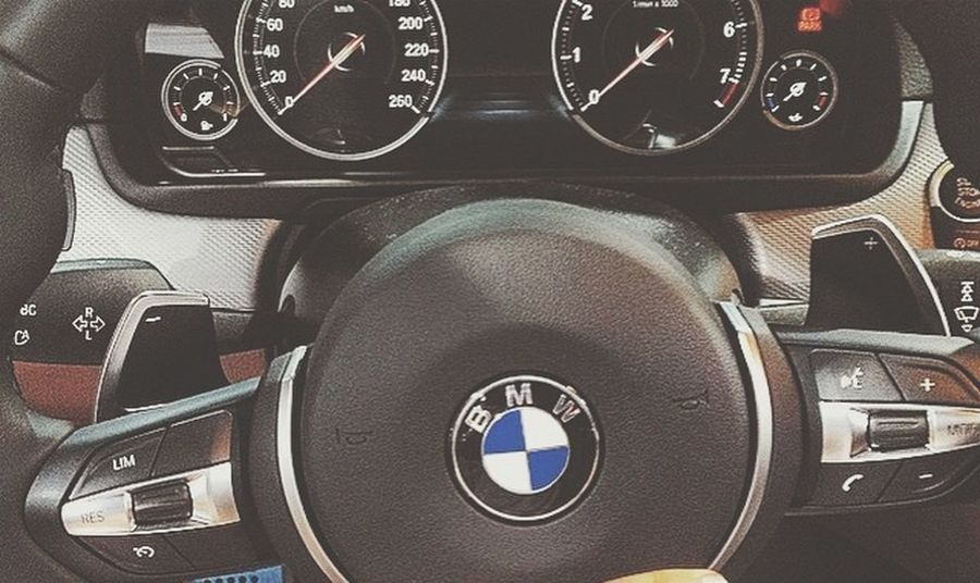 Aşk üc harf BMW 😍 Close-up Technology No People Speedometer Gauge Day