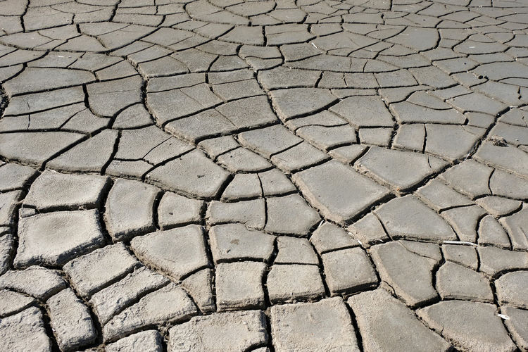 Abstract Nature Drought Full Frame Backgrounds Arid Climate Cracked Dry Environment Textured  Outdoors Mud Day No People Climate Pattern