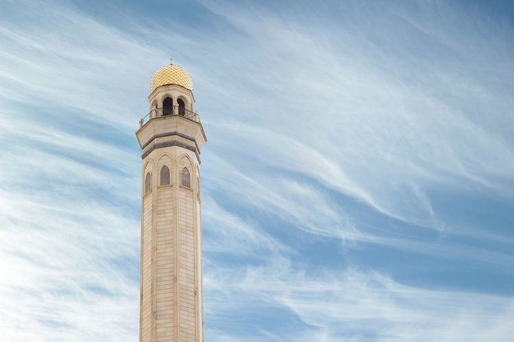 Architecture Sky Cloud - Sky Religion Tower No People Day Outdoors Islam Mosque Minaret