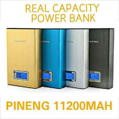 POWERBANK PINENG 11200mAh RM 170 INC POSTAGE Free gift POUCH BAG Sayajual Visitmyig Visitig Iklanig powerbank pineng WA 0137471749