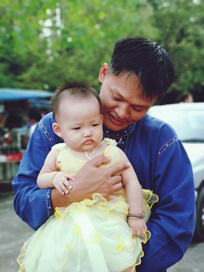 my bro Bonding Togetherness Childhood Men Happiness Smiling Care Males  Father Holding Babyhood Newborn 0-11 Months Babies Only Baby Carriage Delicate Blooming One Baby Boy Only Baby