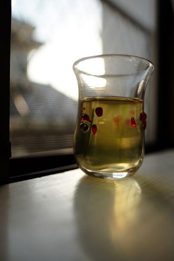 The View From My Window Still Life Glass Reflection Dusk Fujifilm XF16mmF1.4 Pro Neg. Hi The Minimals (less Edit Juxt Photography) Learn & Shoot: Single Light Source Liquid Lunch