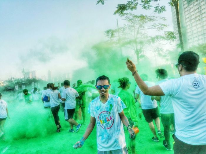 The Color Run Colorsplash Color Manila 2015 Fun Run Photography Explore Color Run Just Smile  Relax Have A Good Time