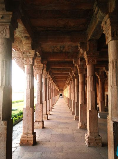 My Year My View Incredible India India Cool Oneplus X Smartphonephotography Onepluslife MyClick Ancient History Historical Sights The Way Forward Architecture Built Structure Indoors  Indoors  Arch Travel PerspectiveShot Perspective EyeEmNewHere