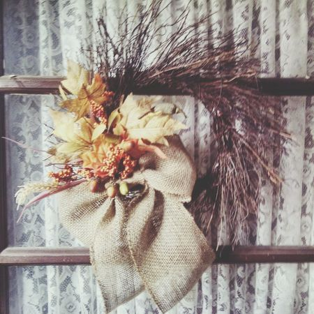 Fall Wreath Recycle Art Diy Project