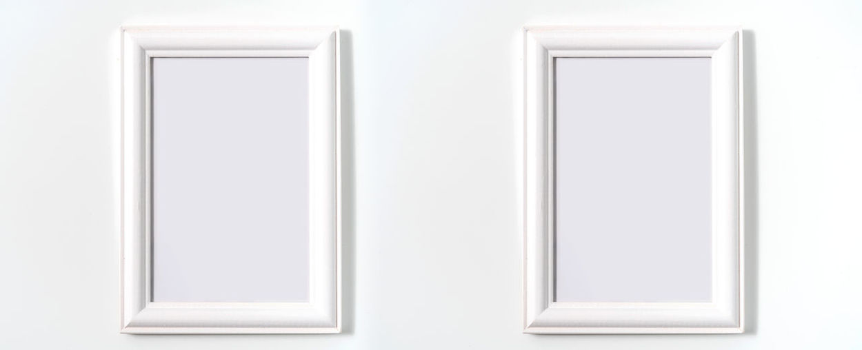 Close-up of white wall at home