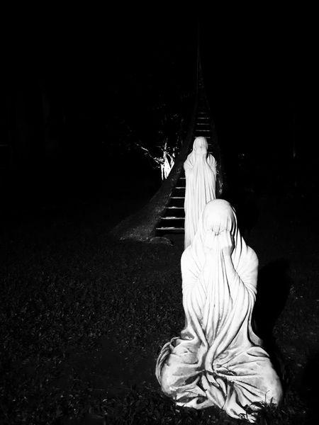Creepy Sculpture EyeEm Best Shots - Black + White Black & White Blackandwhite Black And White Monochrome Close-up