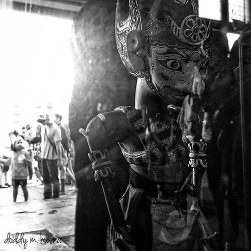 Wayanggoleksunda Wayanggolek Museumwayang Blackandwhitephotography bw_photography monochrome mobilephonephotography sonyxperiaz1