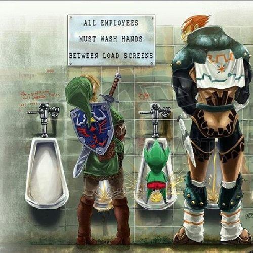 Zelda Oldschool Geekgirl Awesomeness