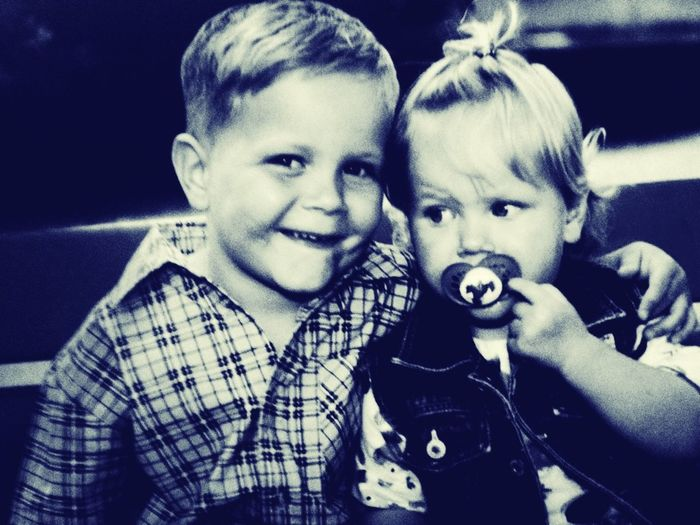 Me And My Brother From 13 Years :* <3!