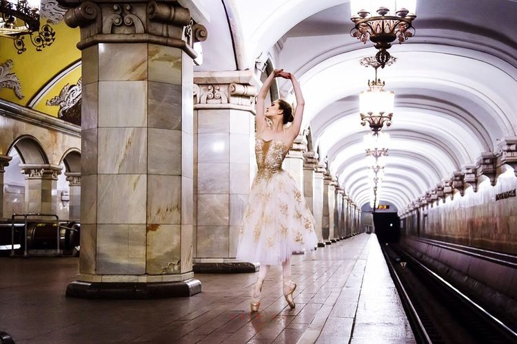 Photo Octavia Kolt Www.balletinsider.com Subway Taking Photos Ballet Russianballerina VSCO Cam Russia