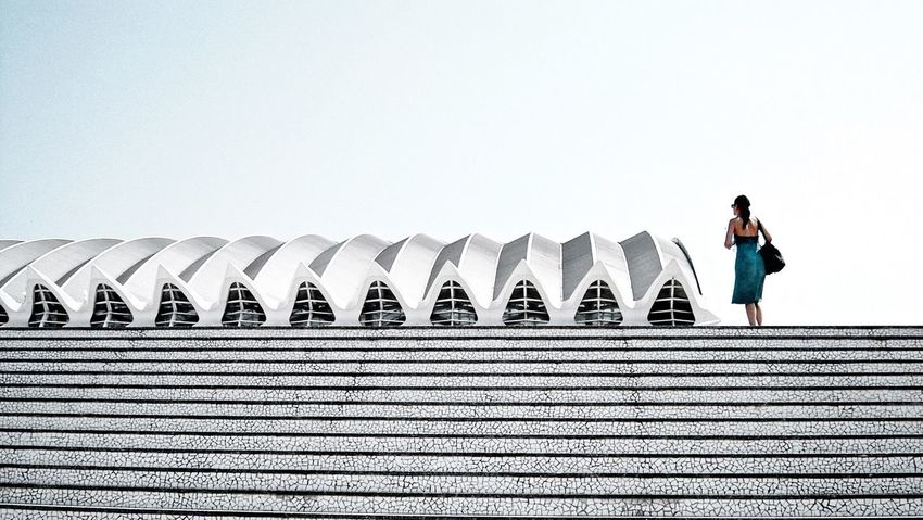 Rule Of Thirds Architecture Exploring New Ground Architecturelovers I love this Building from Santiago Calatrava oValència Amazing Architecture Studies Of Whiteness Stairways Woman Future My Favorite Photo Your Design Story Fine Art Photography Arc+ The Graphic City Colour Your Horizn