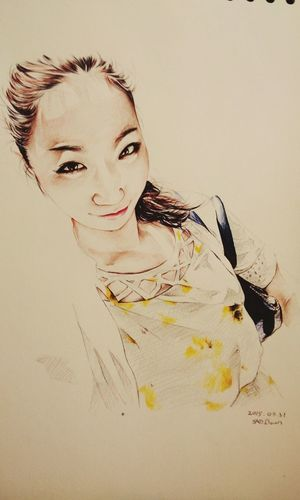 桃井早苗 Ballpoint Draw Drawing Paint Painting Esedy