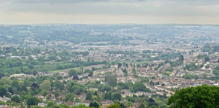 City Aerial View High Angle View Cityscape Architecture No People Landscape Day Outdoors Building Exterior Urban Skyline Beauty In Nature Nature Sky Smoggy City Of Bath Hilltop View Hiking Trail Uk Green City Urban Settlement View Viewpoint Distance Breathing Space Investing In Quality Of Life Been There. Lost In The Landscape