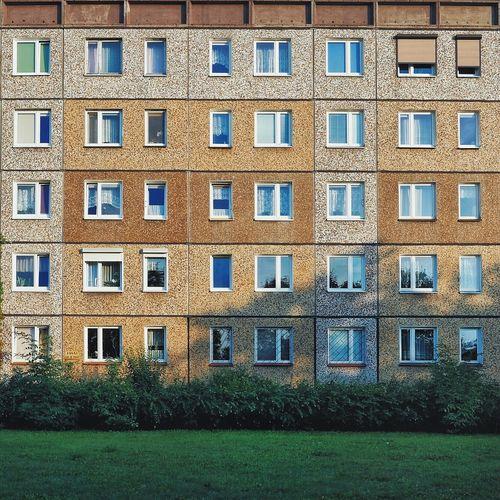 Architecture Block Concrete Modernism