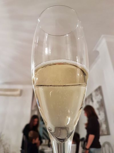 Drink Food And Drink Drinking Glass Alcohol Wine Wineglass Refreshment Champagne Flute Indoors  Champagne Table Close-up Celebration People Day One Person Adult Food Water Freshness New Year Christmastime Family Happy People Happy New Year! Be. Ready. EyeEmNewHere