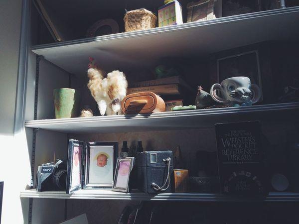 things on my shelf