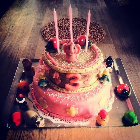 Birthday Cake Made Home pink for girl tagsforlikes czech nice day celebrate sweet