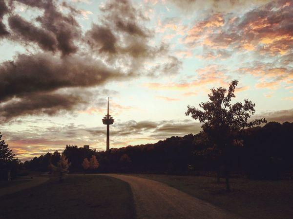 good night cologne Cloud - Sky Sunset Outdoors Sky Beauty In Nature EyeEm Best Shots Travel Destinations City Cologne , Köln,