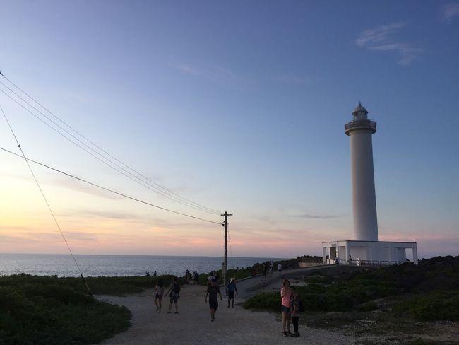 OKINAWA, JAPAN Okinawa Japan Lighthouse Sky Sky And Clouds Cloud Ocean Beauty In Nature Travel