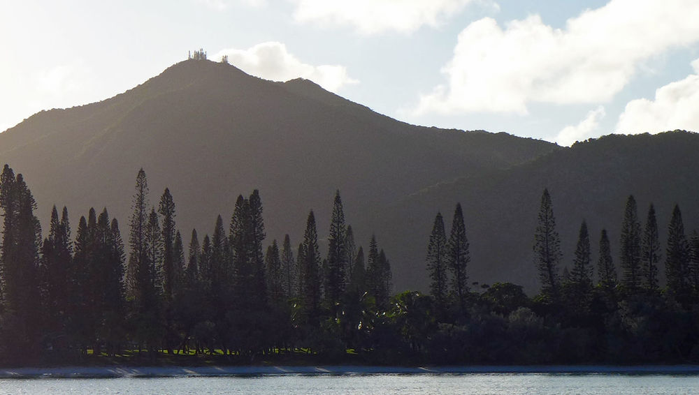 Beauty In Nature Ile Des Pins Mountain New Caledonia No People Outdoors Pine Tree Sunrise Water