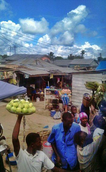 Mtu kazi. Biashara Hawkers Bongo