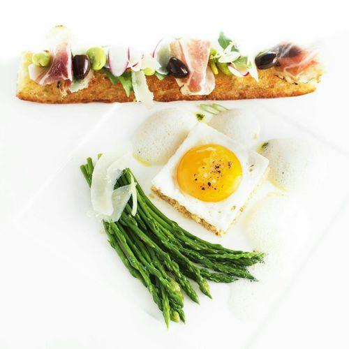 Chefnico Createurdeplaisirculinaire Gastronomy PACA Oeuf Foodphotography Artfood Yellow Gastronomie Française