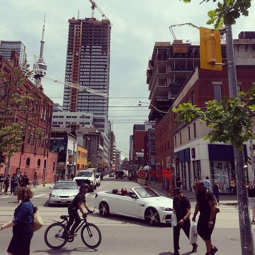 Downtown Toronto. Queen St is the place. Toronto Queen Lookingforbatman
