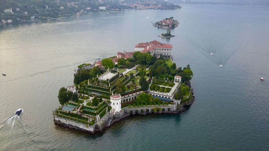 My Best Photo Isola Bella Drone  Aerial View Aerial Photography DJI X Eyeem Island Water High Angle View Architecture Sea Built Structure Transportation Nature Aerial View Waterfront Travel Travel Travel Destinations Architecture