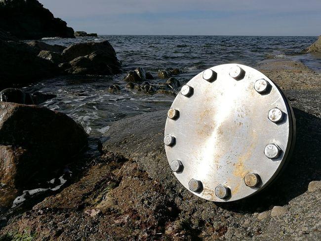Huawei P9. Northeast Coast Sea Beach Water Banff  Stainless Steel