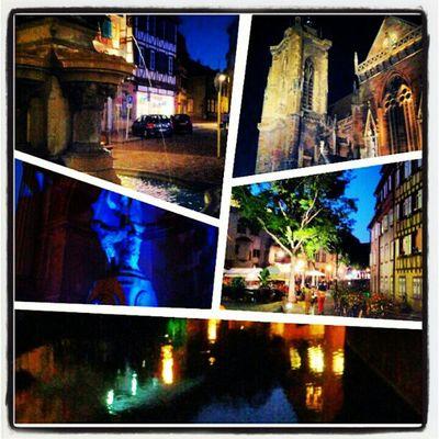 Passeggiata per #Colmar #bynight Colmar Bynight
